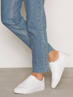Fred Perry Spencer Leather Low Top White