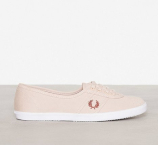 Fred Perry Aubrey Twill Low Top Rose