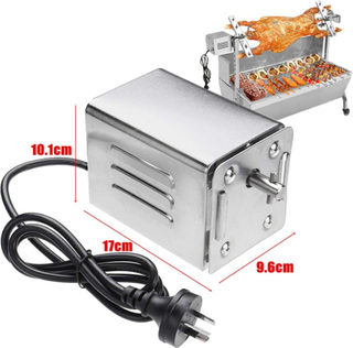 BBQ Grill Motor Rotating Motor Stainless Steel Spit Rotisserie Motor for Roasting Furnace Roasted Lambs Piglets Chicken Motor