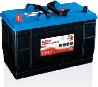 Tudor Dual 12v 115Ah Fritidsbatteri & Marinbatteri TR550