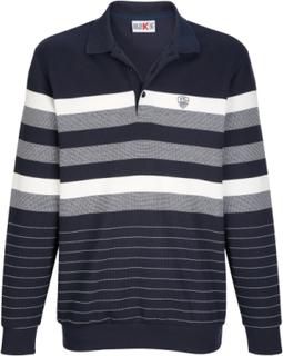 Sweatshirt Roger Kent marine/ecru