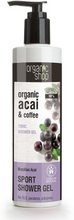 Organic Shop Organic Acai & Coffee Tonic Shower Gel 280 ml