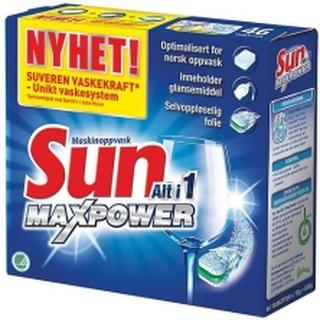 Maskinoppvask SUN Alt i 1 Max Power (46)