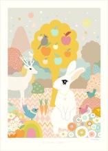 Majvillan Poster 50x70 Little Light