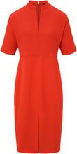 Kleid überschnittenem 1/2-Arm Windsor orange