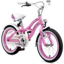 BIKESTAR® Premium Design Lasten polkupyörä 16'', pinkki - roosa/pinkki