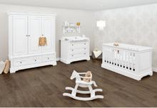 Pinolino lastenhuoneen kalusteet Pan, leveä, 3-ovinen - valkoinen