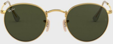 Ray Ban Round Metal 0RB3447 Solglasögon Gold/Black