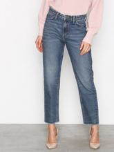 29e3b8166bd1 Lee Jeans Mom Straight Blue Authent Straight Denim