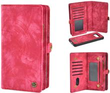 Plånboksfodral/väska till Samsung S8 PLUS med 10 kort Cerise