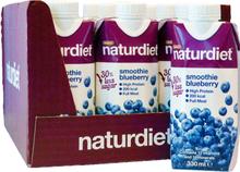 "Hel Låda Måltidsersättning Smoothie ""Blueberry"" 12 x 330ml - 47% rabatt"
