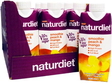 Naturdiet Smoothie Persika & Mango - 52% rabatt
