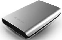 Harddisk VERBATIM 2.5 USB 3.0 1TB sølv