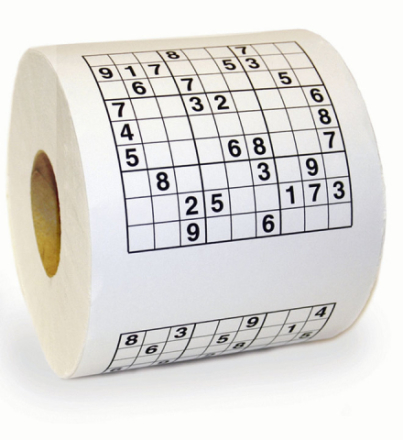 Sudoku-vessapaperi Standard