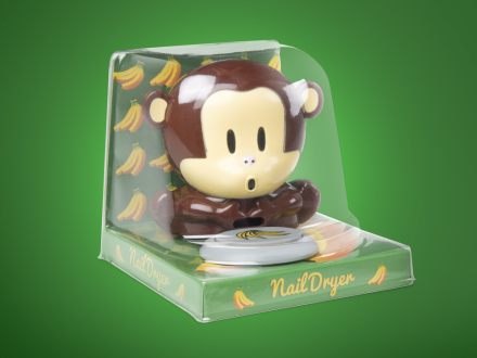Puhaltava apina ?kynsikuivain