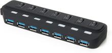 Vooni USB-hub 7-porttia