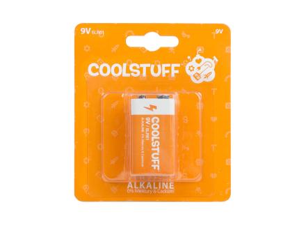Coolstuff Alkaline Batterier 9v