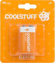 CoolStuff Alkaline Paristot 9v