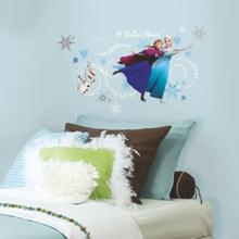 RoomMates® Seinätarra, Disney Frozen, Anna, Elsa ja Olaf - monivärinen