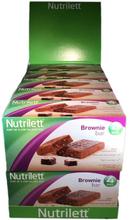 Hel Låda Nutrilett Brownie 10*4-pack - 49% rabatt