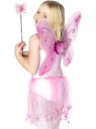 Perhosen siivet Vaaleanpunainen
