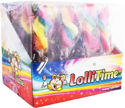 "Hel Låda Klubbor ""Twister Rainbow"" 24 x 17g - 34% rabatt"