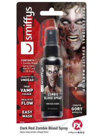 Sort Zombieblod Spray 56 ml