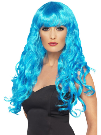 Seireeni Peruukki Sininen