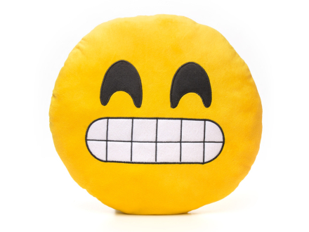 Smiley-Puder 6 - Grinning