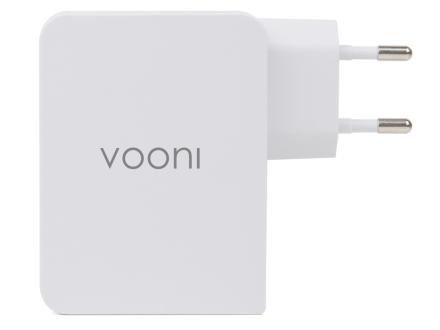Vooni USB-oplader med 4 porte