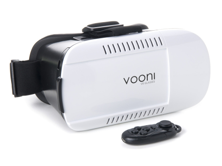 Vooni VR Box Headset med Controller
