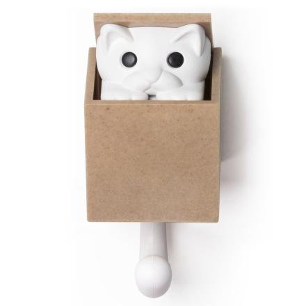 Veggkroken Kitt-A-Boo Brun