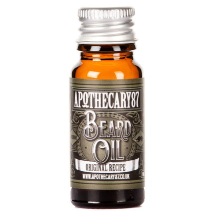 Apothecary87 The Original Recipe Beard Oil 10 ml