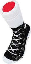 Sneaker Socks Musta 37-45