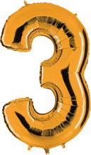 Numeroilmapallo Kulta 3