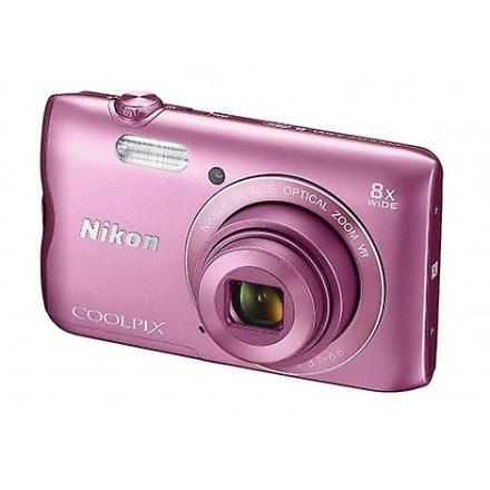 Nikon Coolpix kamera A300 rosa
