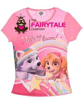 Paw Patrol T-shirt, lyserød - TheFairytaleCompany