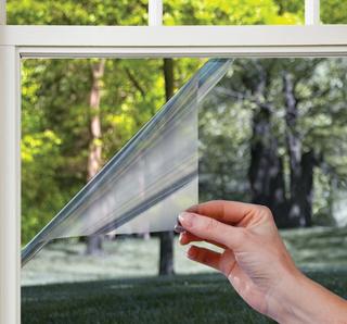 Fönsterfilm /Insynsskydd -One Way Privacy -Svart, Blå eller Silver -Metervara