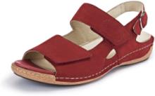 Sandaler Heliett i äkta läder från Waldläufer röd