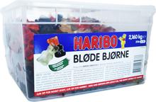 Hel Låda Stora Gummibjörnar 2,1kg - 61% rabatt