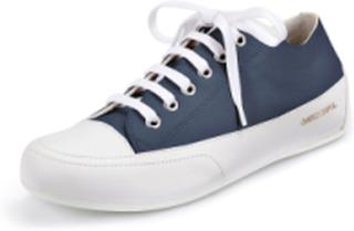 """Sneakers """"Rock"""" i äkta läder från Candice Cooper blå"""