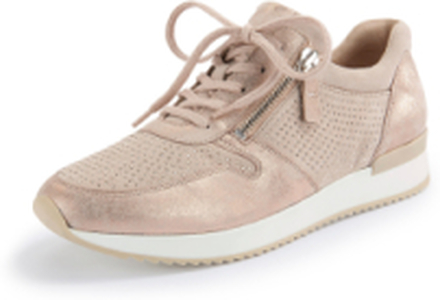 Sneakers applicerade glitternitar från Gabor rosa