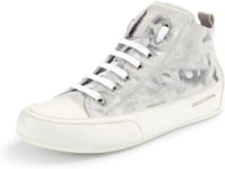 """Sneakers """"Mid"""" i äkta läder från Candice Cooper vit"""
