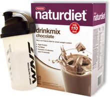 Drinkmix Choklad 825g + Shaker - 52% rabatt