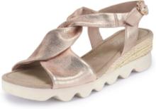 Sandaler i äkta läder från Gabor Comfort rosa