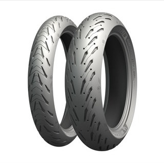 Michelin Road 5 ( 180/55 ZR17 TL (73W) Bakhjul, M/C )
