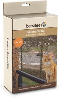 Beeztees Balkongnett for katt gjennomsiktig 6x3 m 410483