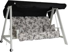 Kornhult hammock vit/grå