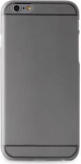 Silikone cover til Apple iPhone 6 Plus/6S Plus Puro Ultra Slim 0.3 Sort