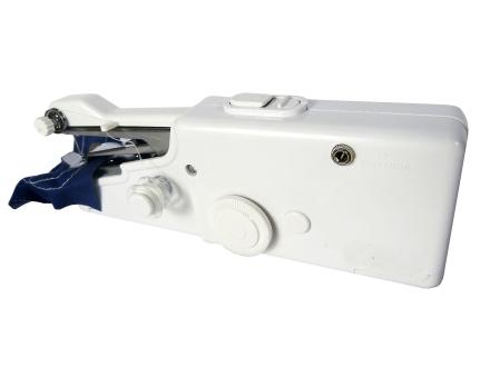 Babz Mini håndholdt symaskin bærbar med batteri / strøm drevet
